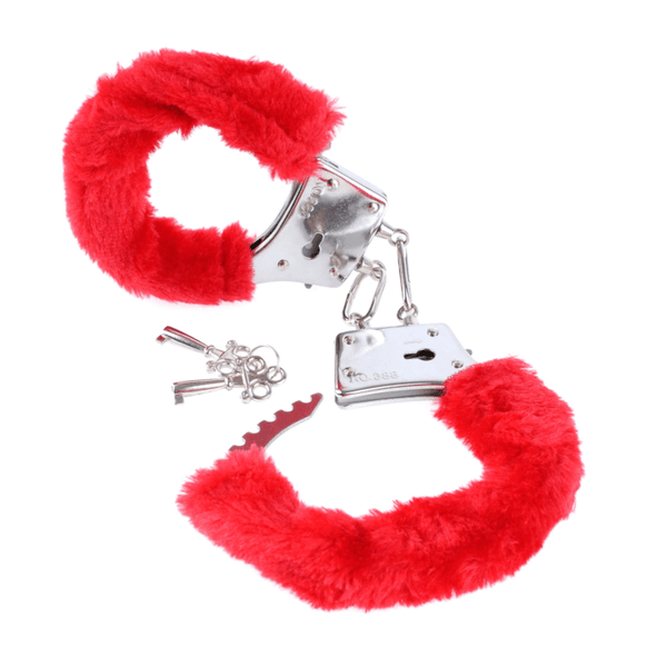 testingtestingfetish-fantasy-beginner-s-furry-cuffs-in-red-pipedrmybedroomspice