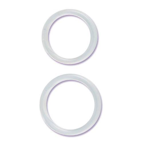 Large and XL Silicone Cock Ring Set
