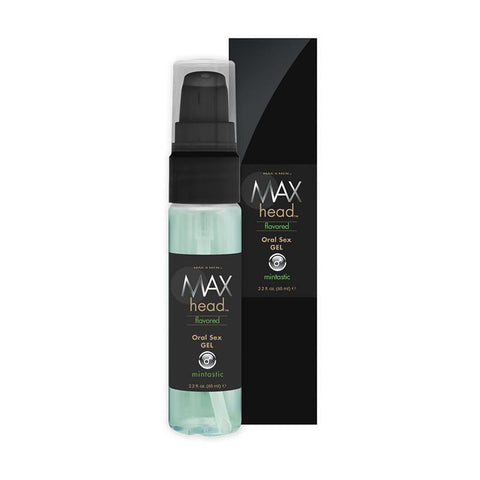 Max Head Flavored Oral Sex Gel 2.2oz/65mL - Mintastic - Classic Erotica - My Bedroom Spice - 2