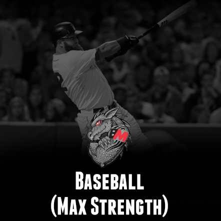 Baseball Training Program  Max Strength