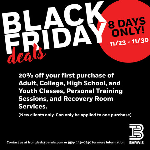 20% OFF Select Classes for First-Time Customers