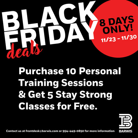 Personal Training 10-pack + 5 Stay Strong Classes