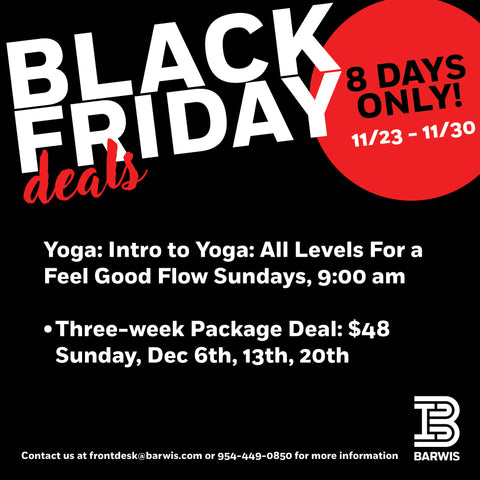 Intro to Yoga 3-Pack Special