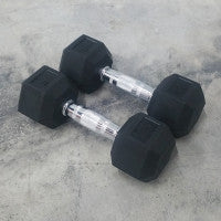 Power Series Hex Dumbbell Sets