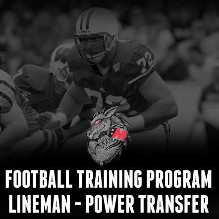 Football Training Program Lineman - Power Transfer