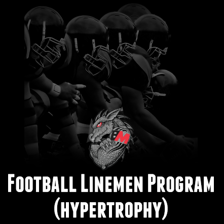 Football Lineman Program-Hypertrophy