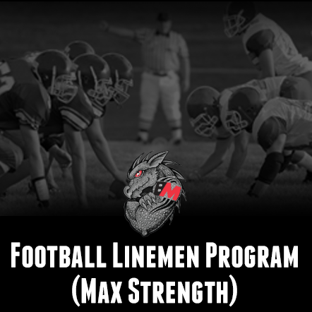 Football Lineman Program-Max Strength