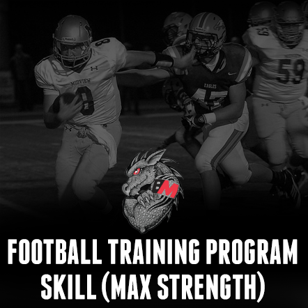 Football Program-Skill Max Strength