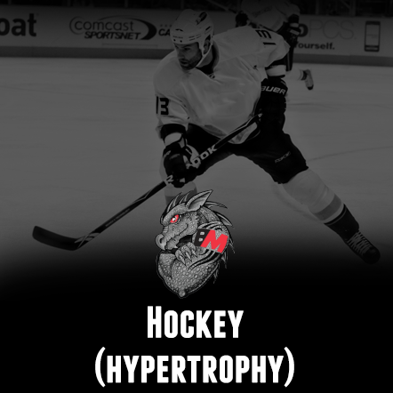 Hockey Training Program - Hypertrophy