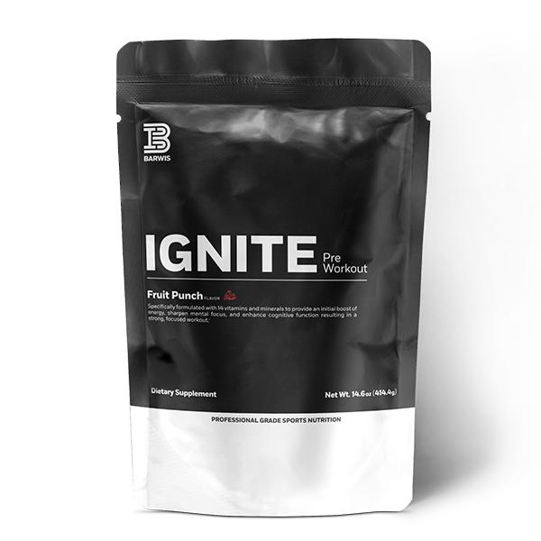 IGNITE (Pre-Workout) Monthly Subscription -- Includes Shipping