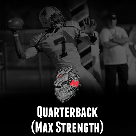 Football Training - Quarterback-Max Strength