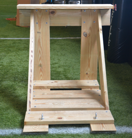 Barwis Methods Custom Football Sled