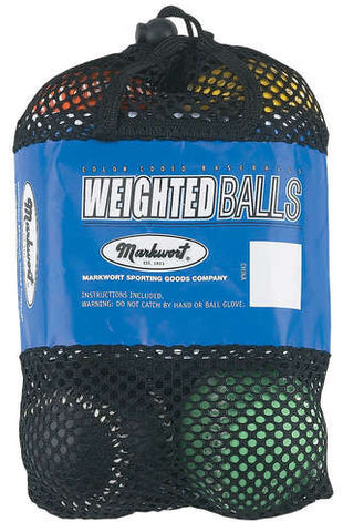 Weighted Baseballs Colored Set