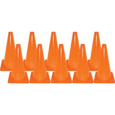 "12"" Drill Cones  Set of 10"