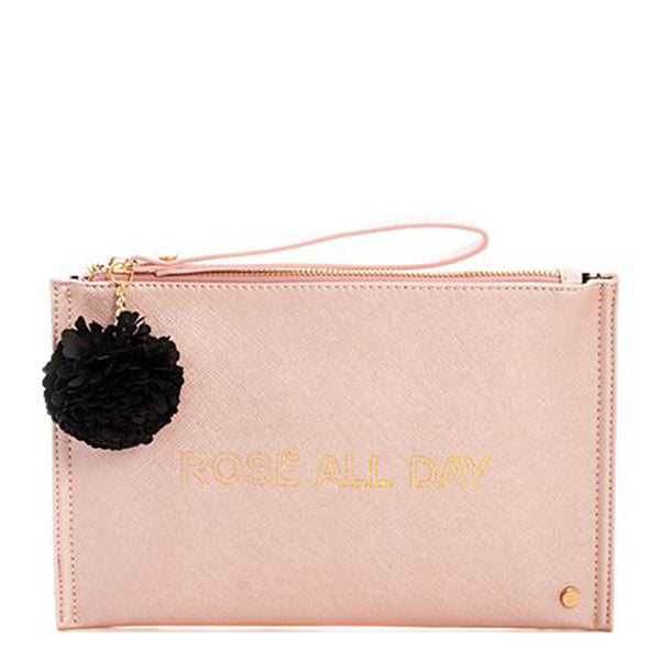 Rosé Clutch - BIG BAG THEORY - 6