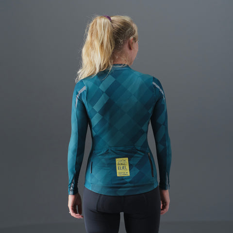 Sonoma Marin L/S Thermal T1 Jersey - Barlow Emerald