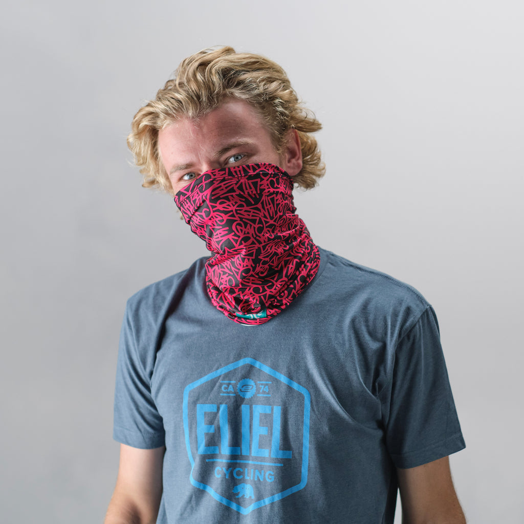 Squid Neck Gaiter - Pink Chunz
