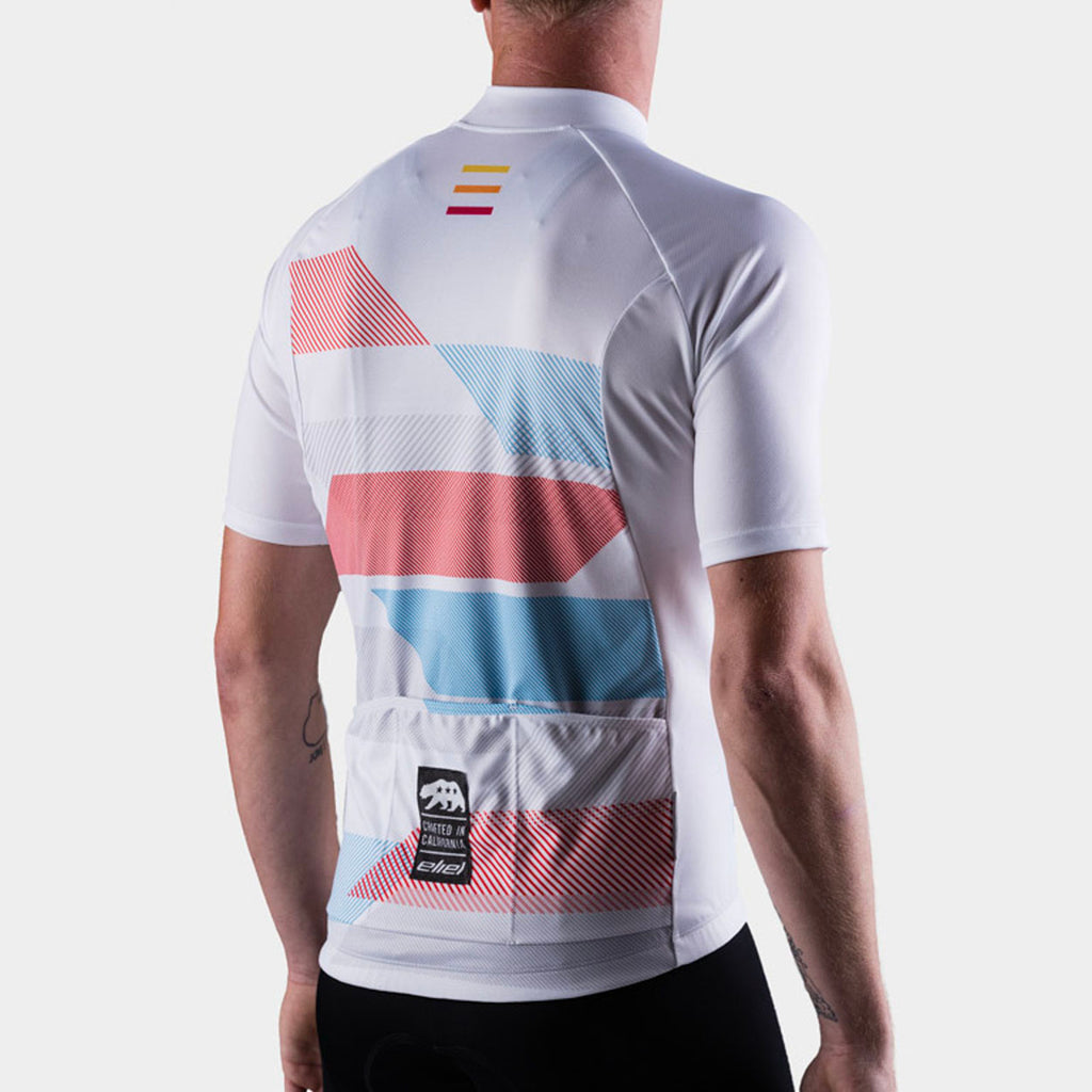 athletic fit cycling jersey
