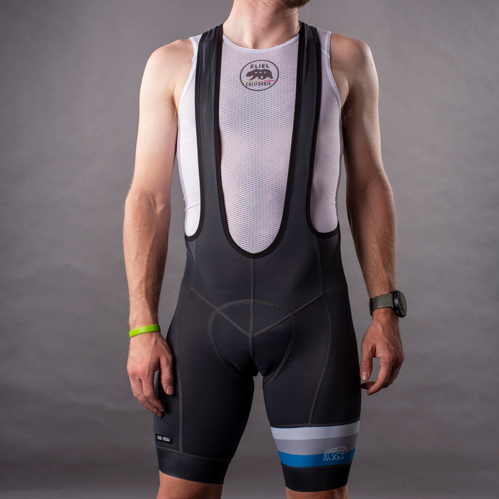 California Heritage Men's Laguna Seca Bib Short