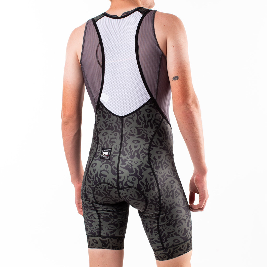 Squid Separates Short Length Laguna Seca Bib Shorts