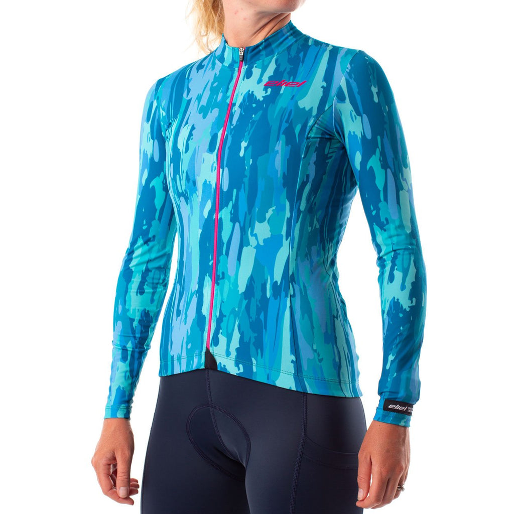 women's thermal cycling jersey