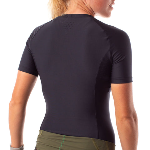 short sleeve cycling base layer