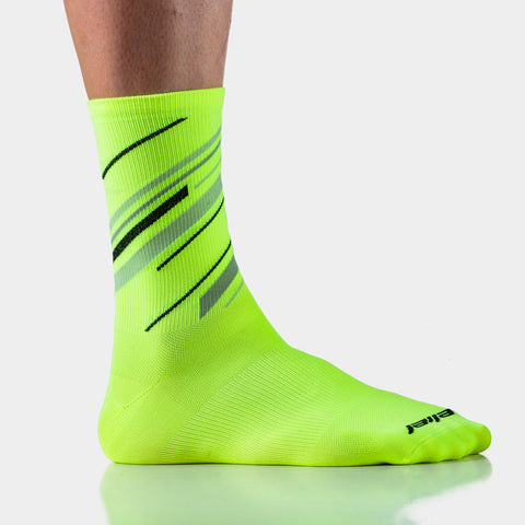 Dawn Patrol Socks - Neon Yellow