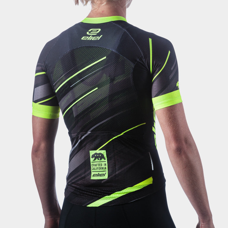 Mavericks Aero Women's Jersey - Black Neon Dawn Patrol