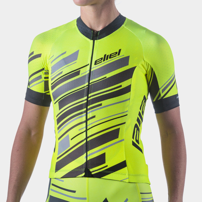Rincon Women's Jersey - Neon Yellow Dawn Patrol
