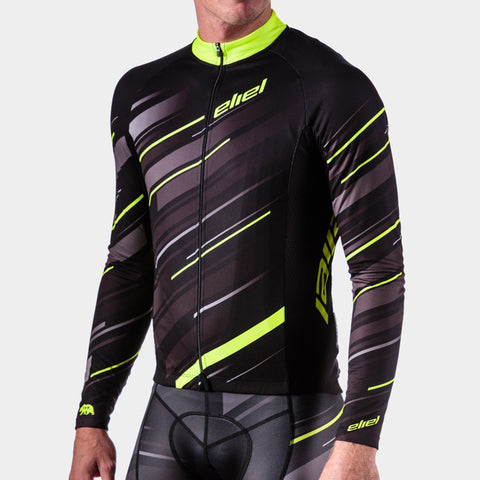 Cascade Long Sleeve - Black Neon Dawn Patrol
