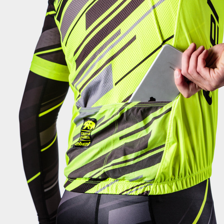 Palomar Men's Vest  - Neon Yellow Dawn Patrol