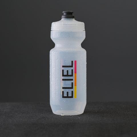 Wordmark Water Bottle - Clear