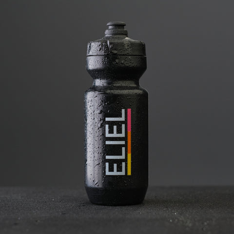 Wordmark Water Bottle - Black
