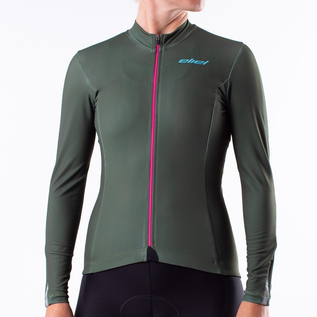 Lost Coast Long Sleeve Thermal Reflective Jersey (T1)