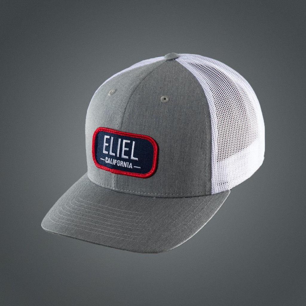 Casual Eliel Patch Logo Hat