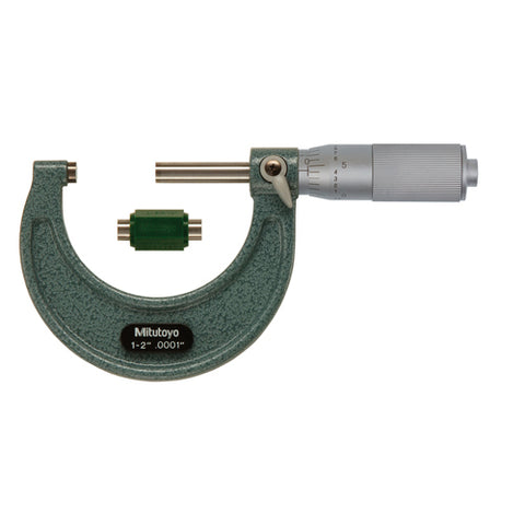 Mechanical Micrometer,  1-2 In, .0001 In FT
