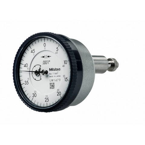 Dial Indicator, .001, .2 In, 3/8, BP