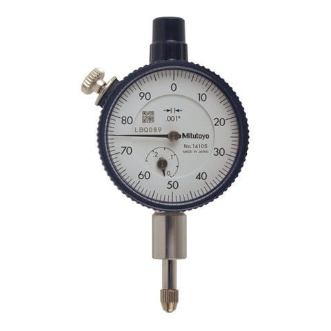 Dial Indicator, .001, .25 In, 3/8, FB