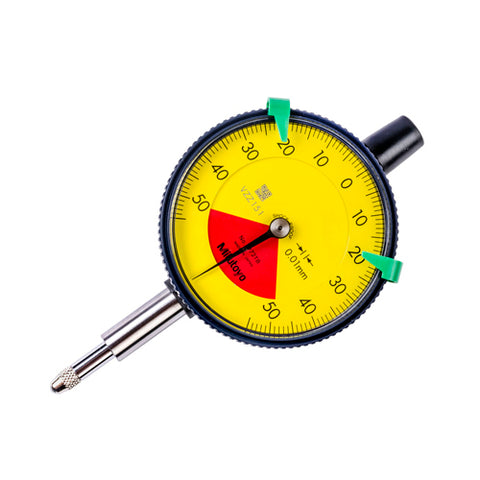 Dial Indicator, .01, 1mm, 8mm, FB