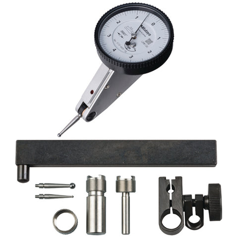 Dial Test Indicator,  .0001 In, .16 In,15mm, FS,T