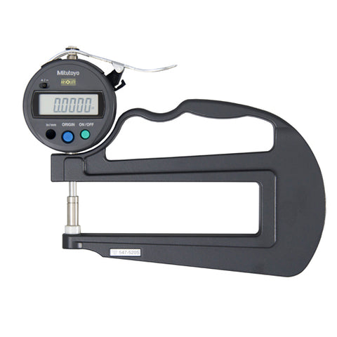 Digimatic Thickness Gage, IDS, I/M 0-.47 In, .0005 In