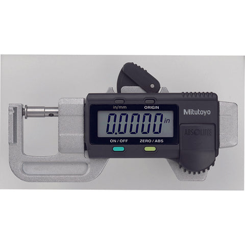 Thickness Gage, Quick Mini, I/M 0-.5 In, 0005 In,NO
