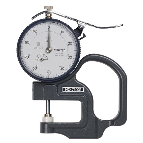 Dial Thickness Gage, 0-.5 In, .001 In