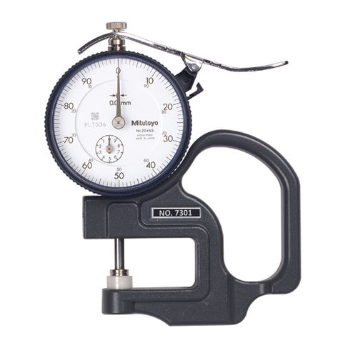 Dial Thick Gage, 0-10mm, .01mm