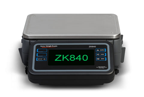Avery Weigh-Tronix ZK840-0912-050 PSU Bench Scale - 50lb X 0.0005lb