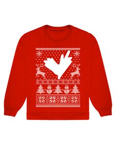 LVRN CHRISTMAS SWEATER - RED