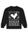 LVRN CHRISTMAS SWEATER - BLACK