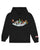 ICE RINK CARTOON HOODIE - BLACK
