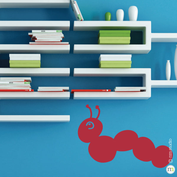 Caterpillar Wall Decal Children's Room Nursery