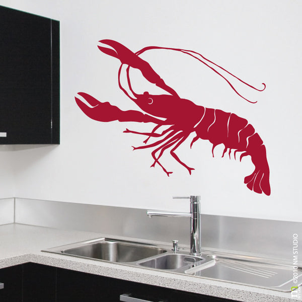 Crawfish Wall Decal